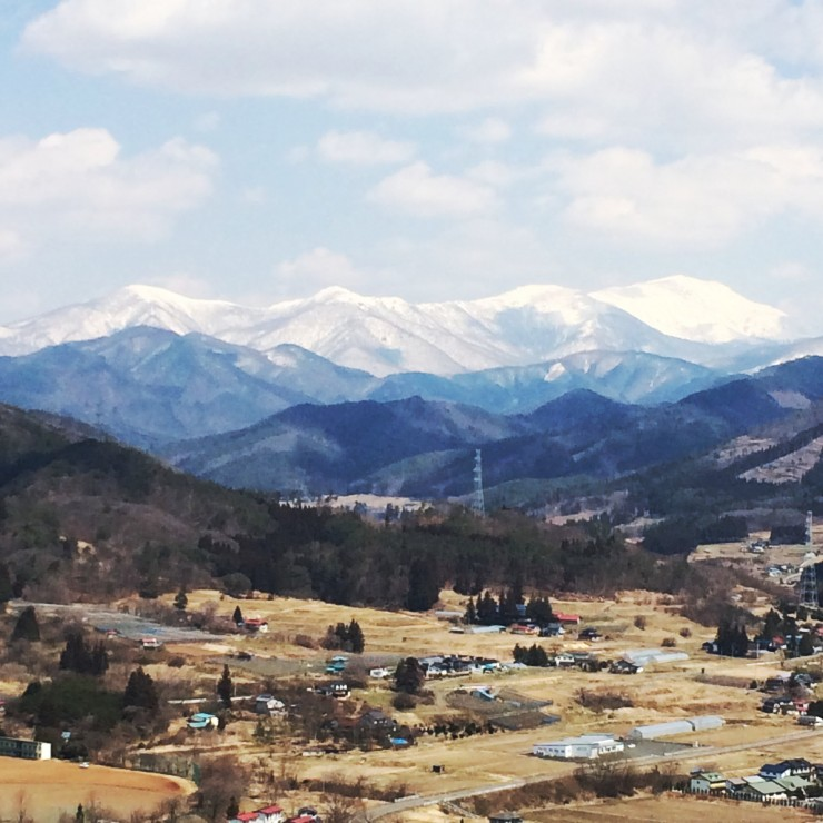 北上山系の山々